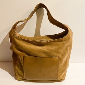 Michael Kors suede shoulder bag hobo